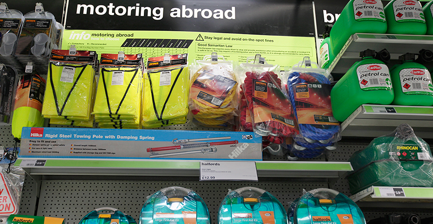Motoring Abroad Accessories