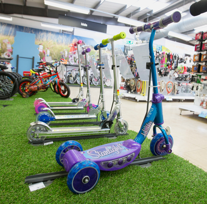 Scooters In Store