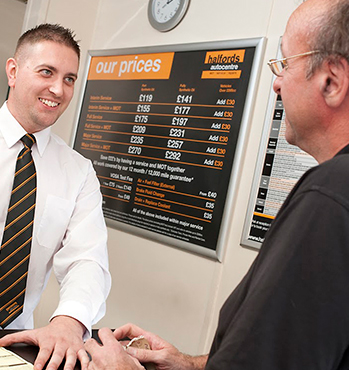 Autocentre Smiling Staff